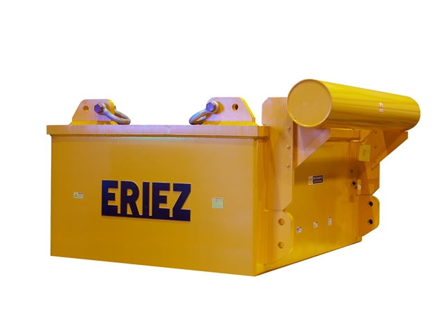 Eriez - Suspended Electromagnets on ups printing, ups machine, ups warehouse inside of, ups container, ups electrical, ups box, ups facility,